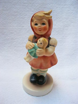 "Goebel - Hummel Figur Nr. 239/B ""Mädchen mit Puppe"" top Girl with Doll"