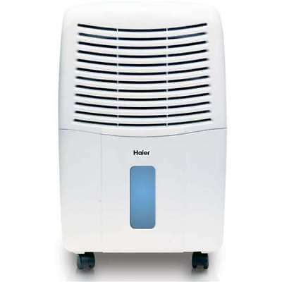 Haier 2 Speed Portable Electronic Air Dehumidifier with Drain, 65 Pint (Damaged)