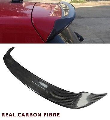 Vw Golf Mk 6 R20 Gti Gt-D Rz Tf Rear Roof Spoiler Real Carbon Fibre 2009-2013