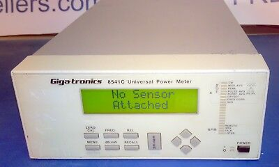 Gigatronics 8541C Single Channel RF Power Meter Rear Input Option 003