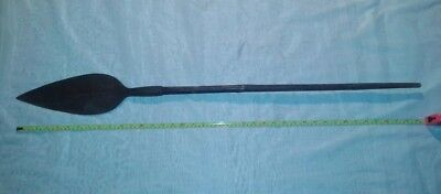 Late 19Th/early 20Th C? African Zulu Large Leaf Stabbing Spear?
