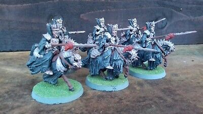 Lord Of The Rings Morgul Knights x6 (metal) Games Workshop. 1999.