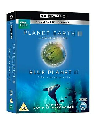 Planet Earth II/Blue Planet II (4K Ultra HD + Blu-ray) [UHD]