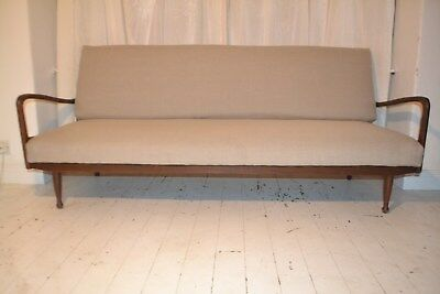 STUNNING VINTAGE GREAVES & THOMAS SOFA BED SETTEE - 1960's