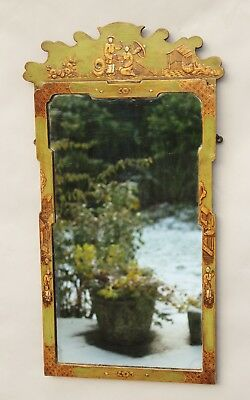 Chinoiserie Painted Pier Glass Mirror