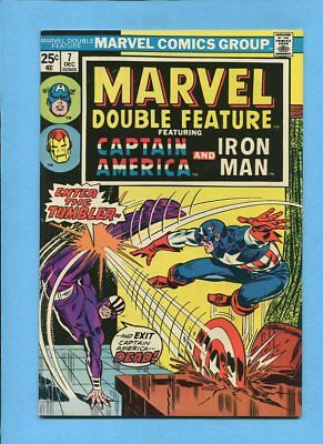 Marvel Double Feature #7 Captain America Iron Man Dec 1974 Jack Kirby VF/NM