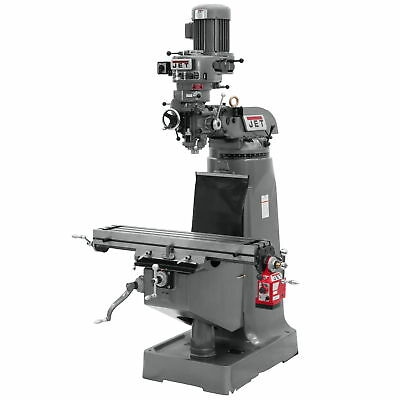 Jet 690019 JTM-1 Mill With X-Axis Powerfeed