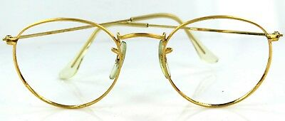 Ray Ban Bausch & Lombe USA  round glasses frames original vintage 70's