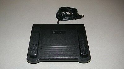 HTH Engineering HDP-3S Start Stop USB Dictation Foot Pedal 3 Switch Control