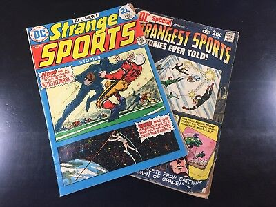 DC SPECIAL#13 Strangest Sports +STRANGE SPORTS STORIES #3 Bronze Age SHIPS FREE