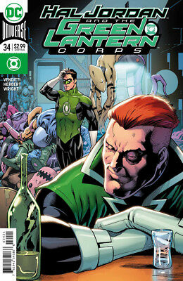 Hal Jordan and the Green Lantern Corps (2016) #34 VF/NM Barry Kitson Cover