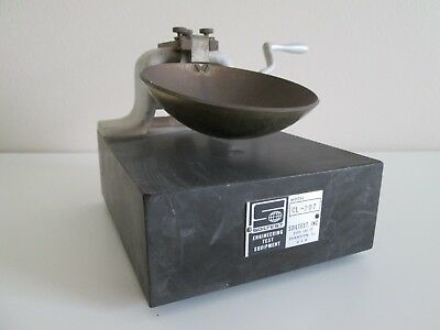 Vintage Soiltest Hand-Operated Liquid Limit Machine Counter CL-207