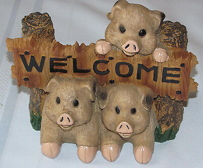 Welcome Pigs -  New
