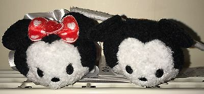 Disney Tsum Tsum Minnie And Mickey Valentines 2016 Pair New With Tags