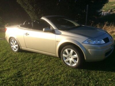 2007 Renault Megane Dynamique Gold COUPE CONVERTIBLE Karman Only 67k FULL MOT