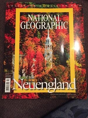 national geographic Neuengland 2008