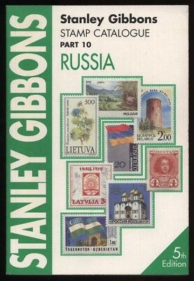 RUSSIA, Stanley Gibbons Stamp Catalogue, 5th edition 1999, Mongolia, Ukraine etc