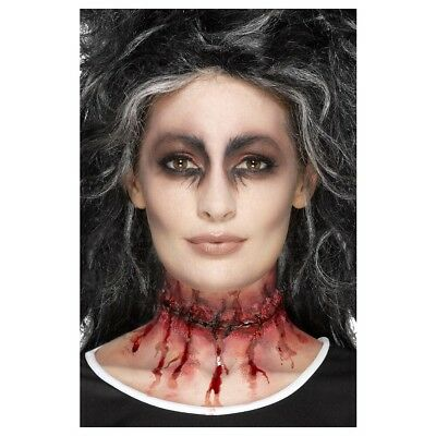 Stitched Scar Prosthetic Costume Makeup Adult Halloween