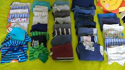 baby boy clothes 3-6 months bundle over 40 items