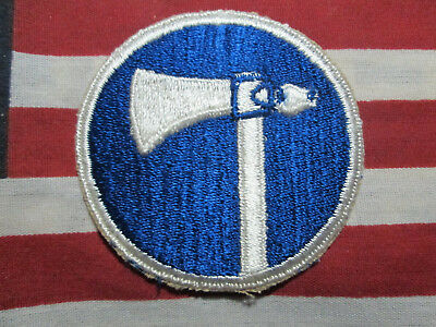 Ww2 Wwii Us Army 19Th Corps Color Shoulder Patch C/e No Glow Uv Original Patches