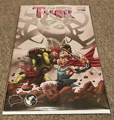 The Mighty Thor #700 Brain Trust / Unknown Comics Greg Land Pink Variant