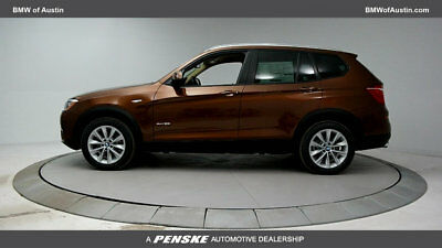 2017 BMW X3 sDrive28i sDrive28i Nearly New Courtesy Car 4 dr Automatic Gasoline 2.0L 4 Cyl Chestnut Br