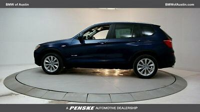 2017 BMW X3 sDrive28i sDrive28i Nearly New Courtesy Car 4 dr Automatic Gasoline 2.0L 4 Cyl Deep Sea Bl