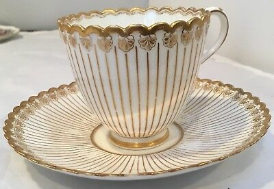 Old Vintage Tea Cup And Saucer Set From 1990