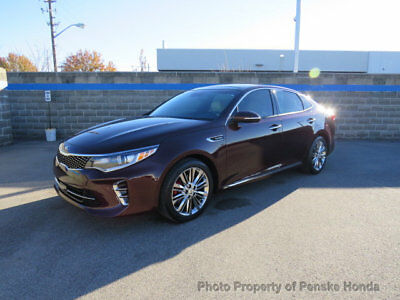 2016 Kia Optima 4dr Sedan SXL Turbo 4dr Sedan SXL Turbo Automatic Gasoline 2.0L 4 Cyl Sangria