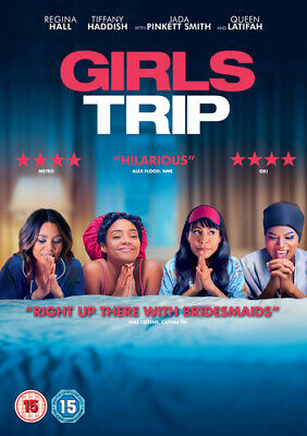 Girls Trip DVD (2017) Jada Pinkett Smith, Lee (DIR) cert 15 Fast and FREE P & P