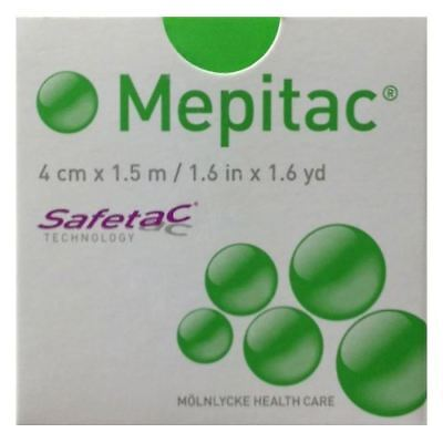 Mepitac Fixation Soft Silicon Tape 4cm x 1.5M x 1