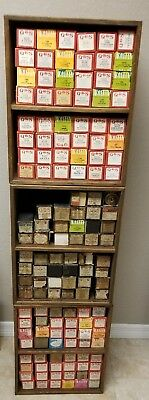 Vtg LOT of 140 Player Piano Music Rolls QRS aeolian Word Roll Red Boxes Oldies
