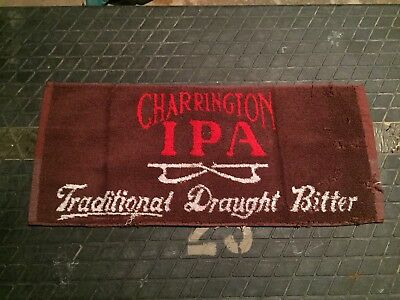 Charrington IPA Traditional Draught Bitter Beer Bar Hand Towel Pub Made Portugal