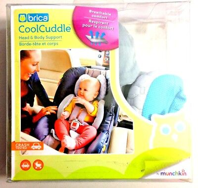 Brica Cool Cuddle Head and Body Support *pre-owned*