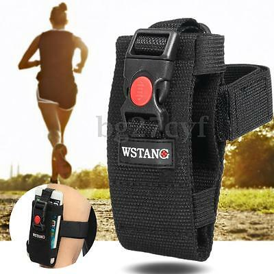 """Adjustable Sports Gym Running Slim Armband Arm Band Case Pouch for 2.5-5"""" Phone"""