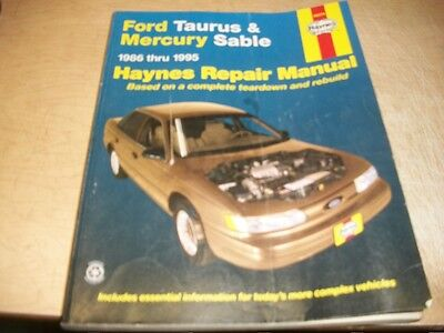 Chilton repair manual guide ford taurussho mercury sable 1986 1995 haynes repair manual 36074 1986 1995 ford taurus mercury sable fandeluxe Gallery