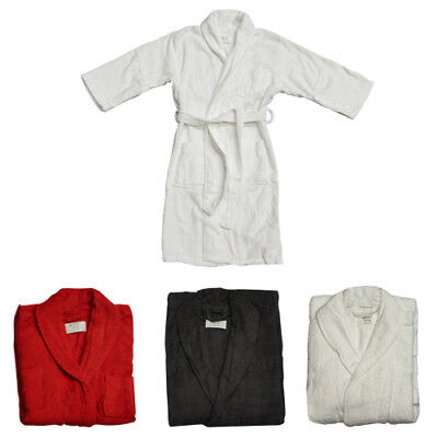 NEW HOTEL DELUXE 100% Egyptian Cotton Terry Towelling Bath Robe 780g Unisex