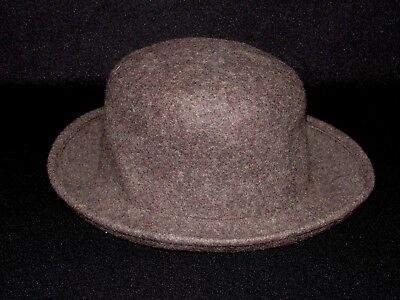 0a347488607d8 Banana Republic Fedora Dress Hat Size Small Medium S   M Brown 100% Wool  Italy
