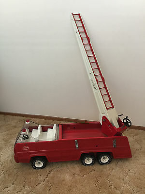 Vintage Tonka Fire Engine with Aerial Extendable Ladder - Great Condition