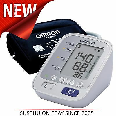 Omron M3 Digital LED Intellisense Upper Arm Blood Pressure Monitor - HEM-7131-E