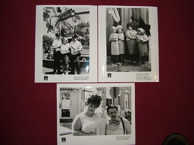 """hairspray"" Film Memorabilia - 3 Black & White Photos"