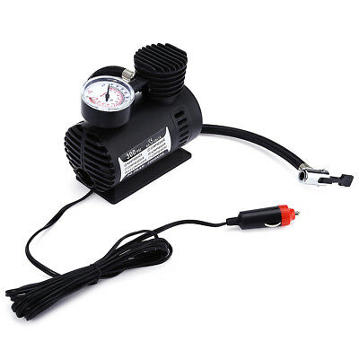 Electric Car Inflatable Mini Tire Pump Air Compressor with Tyre Pressure Monitor