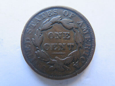 1831 USA LARGE PENNY or 1 CENT COIN in VERY NICE COLLECTABLE CONDITION & SCARCE