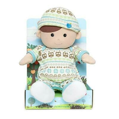 Organic BOY Toddler Doll - 100% Organic Cotton - Removeable Clothes - Apple Park