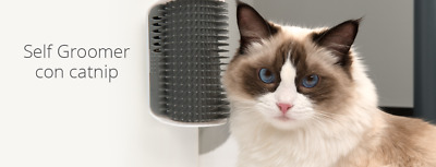 Tienda Gatos - CATIT MASAJEADOR DE PARED SELF GROOMER SENSES 2.0