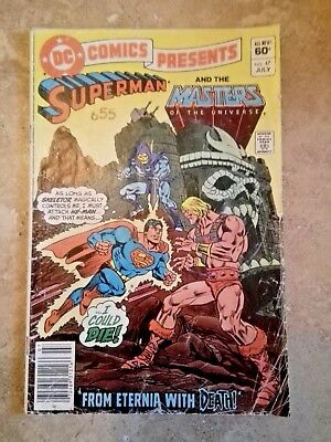 DC Comics Presents #47 - Superman- 1st He-Man & Skeletor - Masters of Universe
