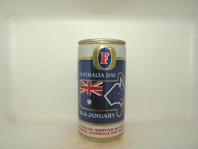 Fosters Lager Australia Day Empty Beer Can