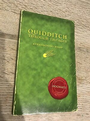 Harry Potter Quidditch Through The Ages. JK Rowling. 1st Edition Comic Relief