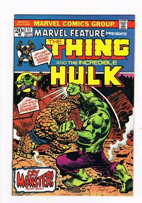 Marvel Feature # 11 Thing versus Hulk battle issue Jim Starlin grade 5.5 scarce