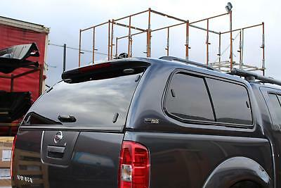 Nissan Navara D40 Double Cab 2006-2015 Ridgeback S-Series Hardtop Electric Blue